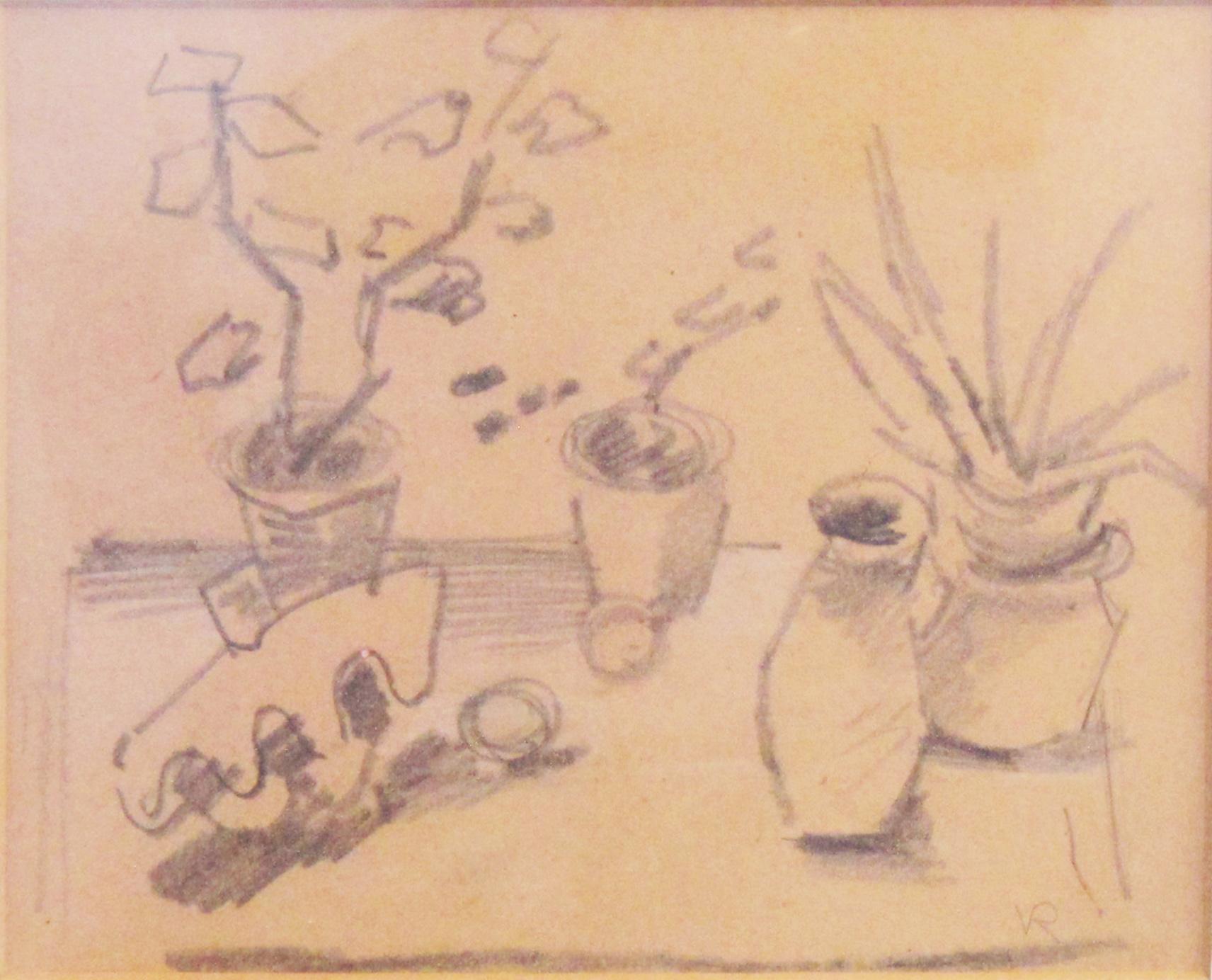 tekening bloeme n